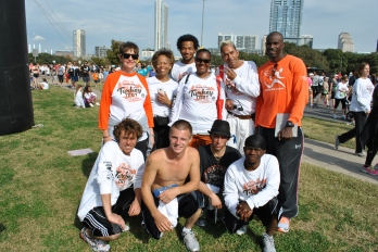 2012 Caritas Client Turkey Trot Team